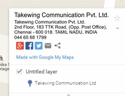 TAKEWING COMMUNICATION PVT LTD Chennai Nungambakkam